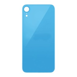 For iPhone XR Back Glass Blue