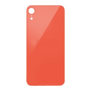 For iPhone XR Back Glass Pink