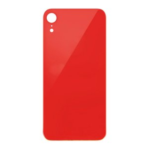 For iPhone XR Back Glass Red