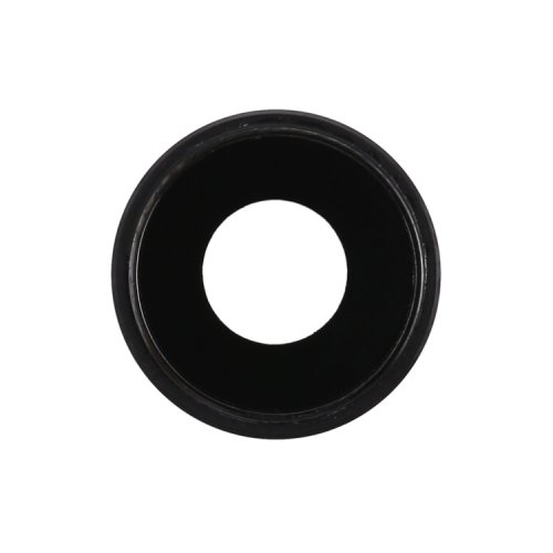 For iPhone XR Camera Lens with Bezel Black