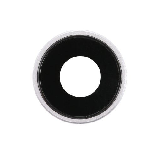 For iPhone XR Camera Lens with Bezel White