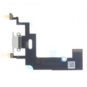 For iPhone XR Charing Flex Cable White