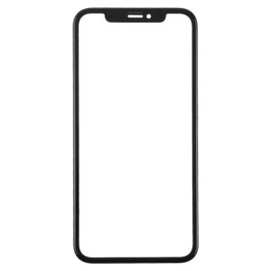 For iPhone XR Front Glass with Frame