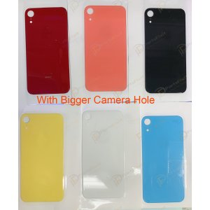 European Version For iPhone XR Back Glass with Bigger Camera Hole