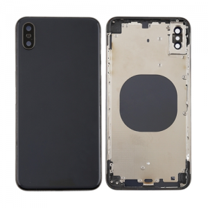 For iPhone Xs Max Rear Housing Black