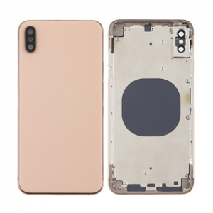 For iPhone Xs Max Rear Housing Gold