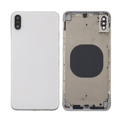 For iPhone Xs Max Rear Housing Cover White