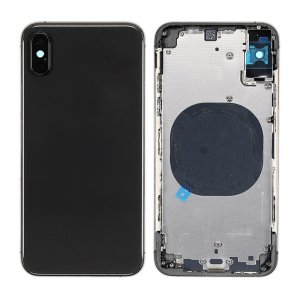 For iPhone Xs Battery Cover Back Housing Black