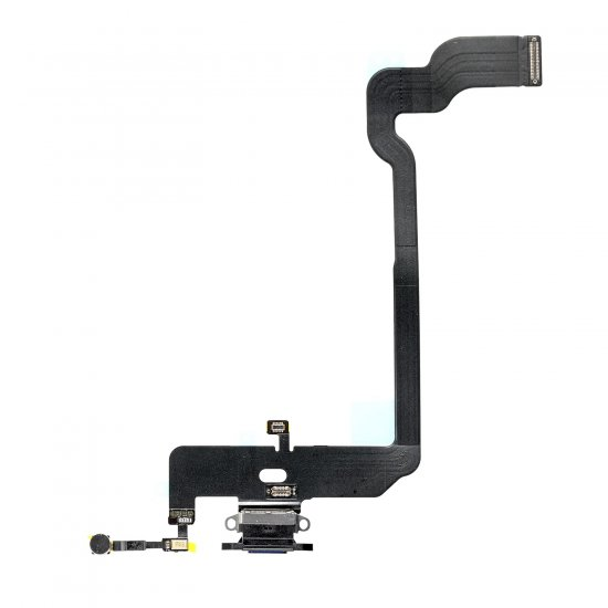 For iPhone Xs Charging Flex Cable Black