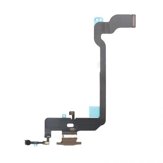 For iPhone Xs Charging Flex Cable Gold