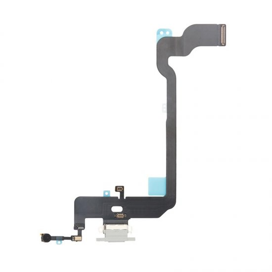 For iPhone Xs Charging Flex Cable White