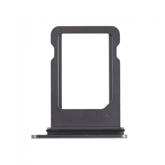 For iPhone Xs Single Sim Card Tray Black
