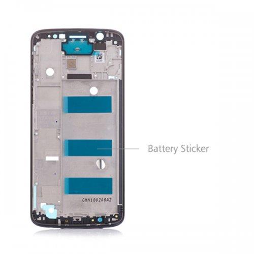 Motorola Moto G6 Plus Front Housing Black Origina...
