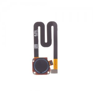 Motorola Moto G6 Play Fingerprint Sensor Flex Cable Dark Blue Original
