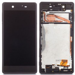 Sony Xperia X LCD Screen Replacement With Frame Black OEM