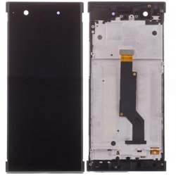 Sony Xperia XA1 LCD Screen Replacement With Frame Black OEM