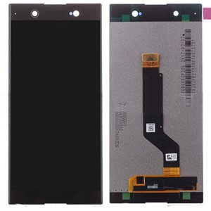 Sony Xperia XA1 Ultra C7 LCD with Digitizer Assembly Black OEM
