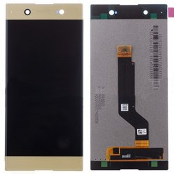 Sony Xperia XA1 Ultra C7 LCD with Digitizer Assembly Gold OEM