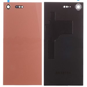 Sony Xperia XZ Premium Battery Door With Camera Lens Pink Ori