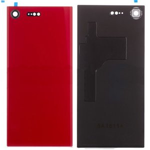 Sony Xperia XZ Premium Battery Door With Camera Lens Red Ori