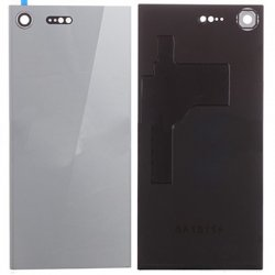 Sony Xperia XZ Premium Battery Door With Camera Lens Silver Ori