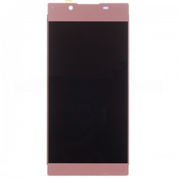 Sony Xperia L1 LCD Screen Replacement With Frame Pink OEM