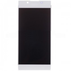 Sony Xperia L1 LCD Screen Replacement With Frame White OEM