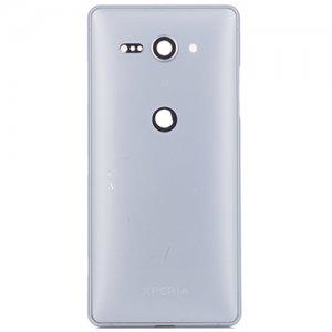 Sony Xperia XZ2 Compact Battery Door Silver Ori