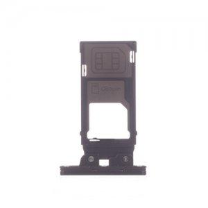 Sony Xperia XZ2 SIM SD Card Tray Black Ori (Single Card Version)