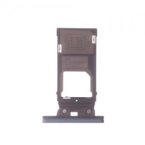 Sony Xperia XZ2 SIM SD Card Tray Dark Green Ori (Single Card Version)