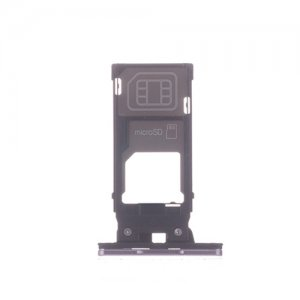 Sony Xperia XZ2 SIM SD Card Tray Pink Ori (Single Card Version)