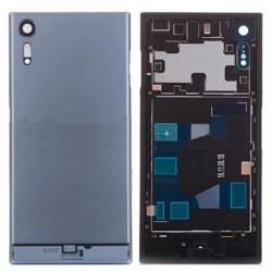 Sony Xperia XZs Battery Door With Camera Lens Blue Ori