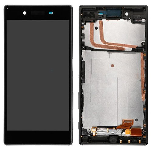 Sony Xperia Z5 LCD Screen Replacement With Frame Black OEM Dual Card Version