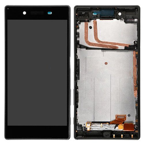 Sony Xperia Z5 LCD Screen Replacement With Frame Black OEM Single Card Version
