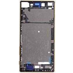 Sony Xperia Z5 Premium Front Housing Gold Ori (Dual Card Version)