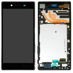 Sony Xperia Z5 Premium LCD Screen Replacement With Frame Black Ori Dual Card Version