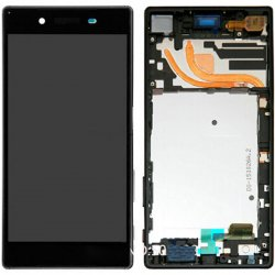 Sony Xperia Z5 Premium LCD Screen Replacement With Frame Black Ori Single Card Version
