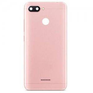 Xiaomi Redmi 6 Battery Door Pink Ori Dual Card Version