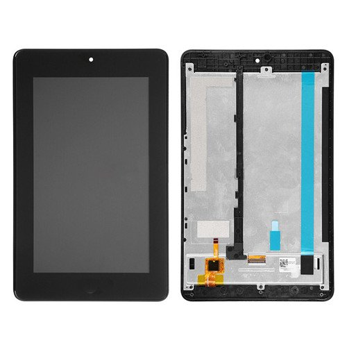 Screen Replacement With Frame for Acer Iconia Tab One 7 B1-730 HD Black