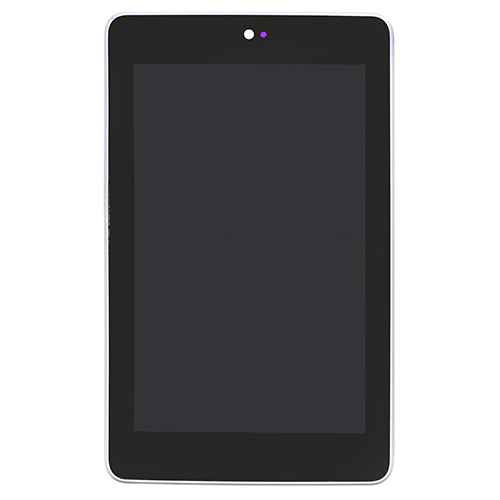 LCD Screen with Frame  for Asus Google Nexus 7 Sil...