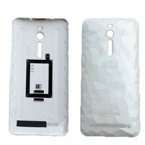 Battery Door for Asus Zenfone 2 ZE551ML White(Crys...