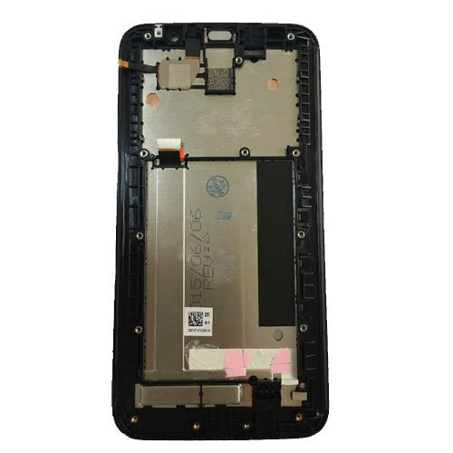 Screen Replacement With Frame for Asus Zenfone 2 Laser ZE551KL Black