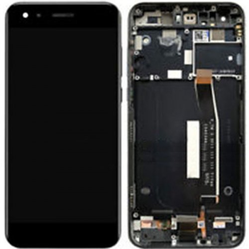 Screen Replacement With Frame for Asus Zenfone 4 ZE554KL Black