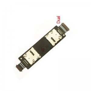 Dual Card Reader Contact Flex Cable Ribbon for Asus Zenfone 5