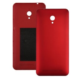 Battery cover for Asus Zenfone Go ZC500TG Red