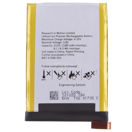 For Blackberry Q5 Battery
