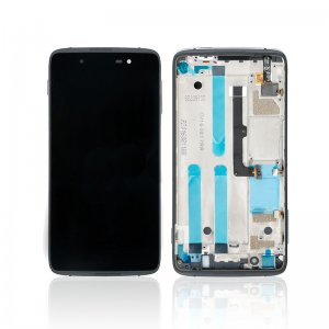 Screen Replacement With Frame for BlackBerry DTEK50 Black Ori