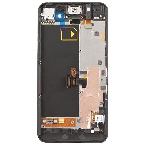 For BlackBerry Z10 LCD with Frane Black Original 4G Version