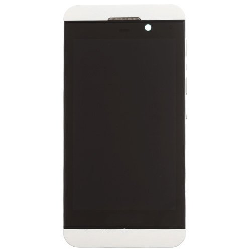 For BlackBerry Z10 LCD with Frane White Original 4G Version