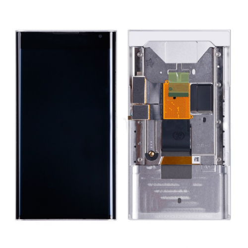 For BlackBerry Priv LCD with Frane White